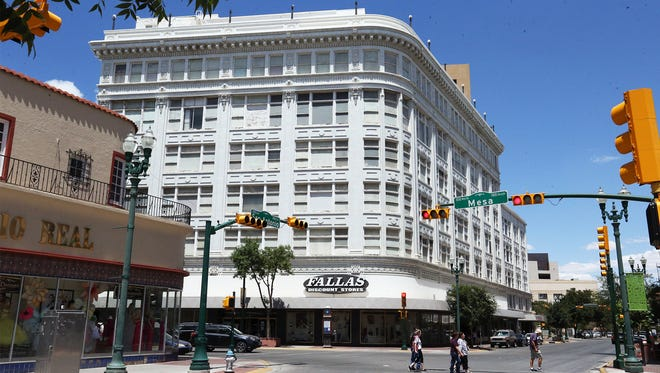 The former The Popular department store building at Mesa and San Antonio in Downtown has a Fallas Discount Store on the bottom three floors. But most of the building is vacant.  It was designed by iconic El Paso architect Henry Trost. The owner of the Fallas store chain plans to restore the building and possibly put loft apartments on the upper floors.