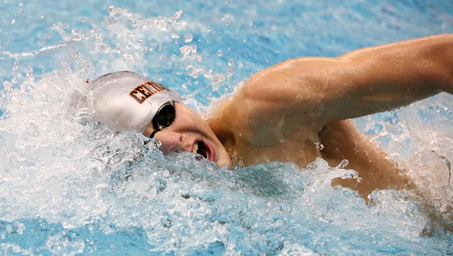 Central York's Alec Peckmann is enjoying an outstanding senior season and is ranked in the top 10 in the state in a number of events.