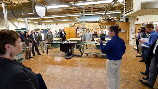 Southern Door County School District has won the Education Innovation Award from the Northeast Wisconsin Manufacturing Alliance.