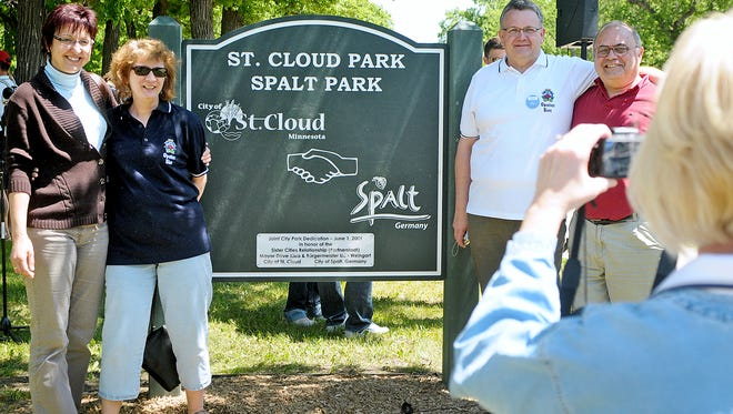 In 2009 St. Cloud Park was renamed St. Cloud-Spalt Park in honor of the sister city relationship.