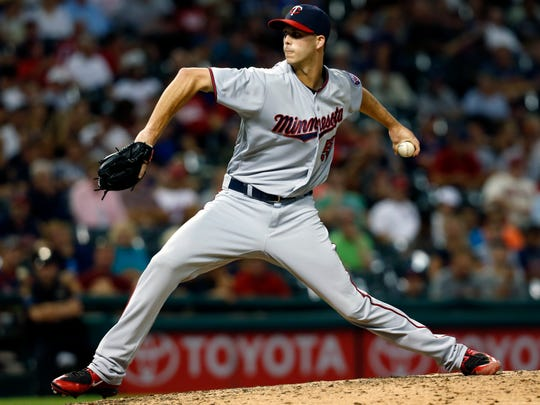 Twins pitcher Taylor Rogers estimated that he hasn't been in Colorado in late March since 2011.