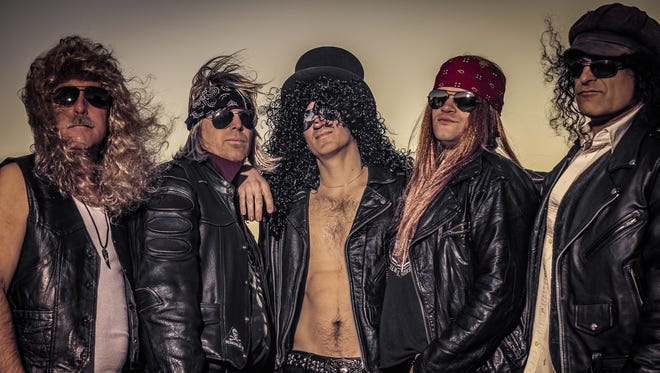 Tribute band Gun Sin Roses will perform in Oshkosh May 19.