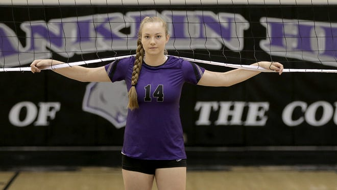 Franklin senior outside hitter Caylee Robalin is a top player to watch in El Paso.