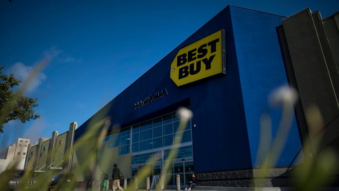 Best Buy apologizes for overpriced water sold at a store near storm-ravaged Houston.