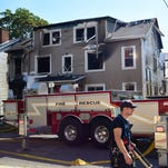 An early morning fire in the City of Poughkeepsie Sunday destroyed an apartment building at 7 North Hamilton St.