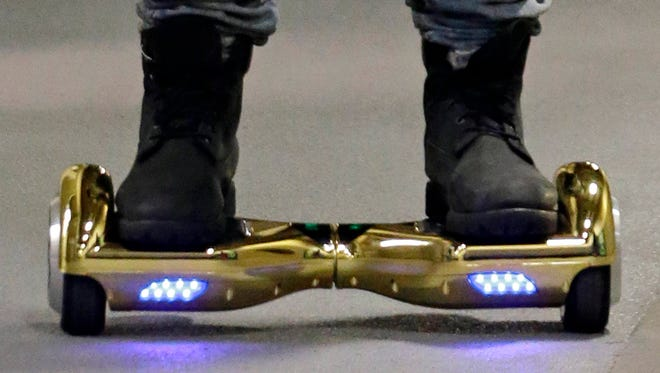 Self-balancing scooters, also known as hoverboards, are now prohibited on Austin Peay State University's campus.