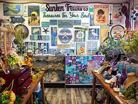 20% OFF at Sunken Treasures and more!