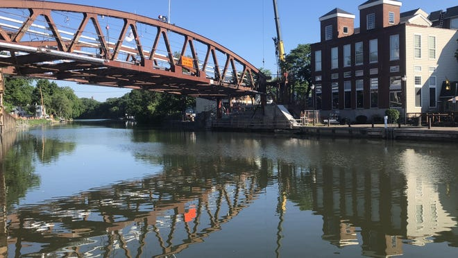 It's going to be hot over the next few days, for workers at the lift bridge over the Erie Canal in Fairport and everyone else in the Finger Lakes region. A heat advisory takes effect at 1 p.m. Tuesday and continues through Friday.