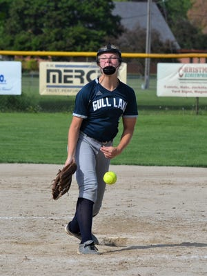 Lauren Esman has become a dominant pitcher her junior season for Gull Lake as she has earned the attention of college scouts and has committed to play at the University of Michigan.