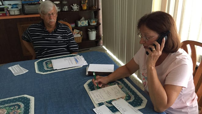 Toms River residents Jerry and Debbie Zaleski wanted a refund after their Southwest Airlines flight was canceled on Saturday.