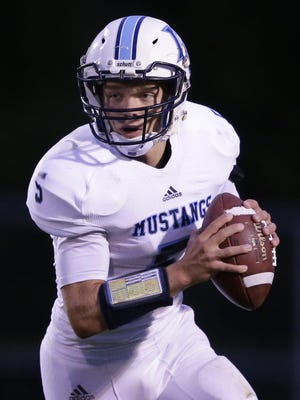 Little Chute's Devin Plate likes the leadership responsibility that comes with being a quarterback.
