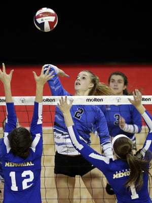 Merrill's Morgan Wardall was a unanimous all-Wisconsin Valley Conference selection last year as a junior.