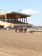 Horse racing at Arizona Downs, formerly known as Yavapai Downs.