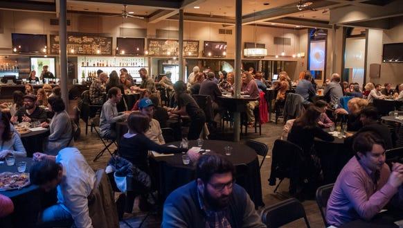 Jefferson Street Pub was packed for World Kitchen Pop