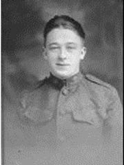 Pvt. Walter Woodford Plucknette, son of Martha Plucknette, entered the service Dec. 20, 1917.