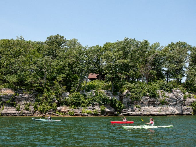 Stockton Lake's water trail offers challenging paddle