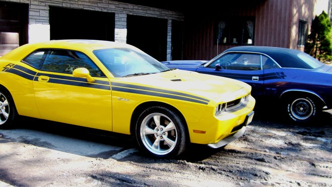 Brian Hollister, of Elk Lake, Pennsylvania, has two Challengers in his car stable. One is a 1971 Challenger R/T 383 and a second a 2010 Challenger R/T Hemi. Both are manual transmission and in real fine shape.