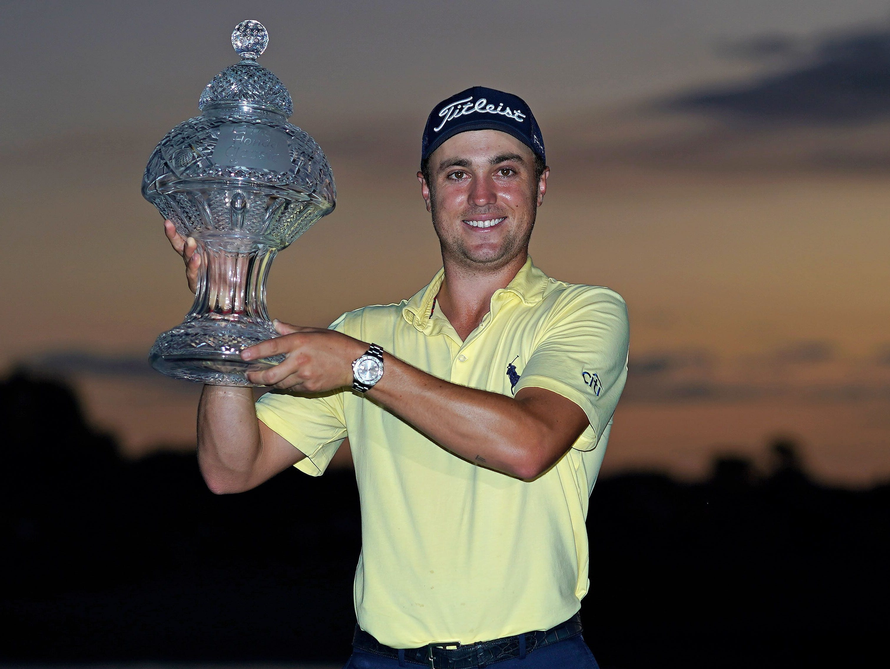Defending champion Justin Thomas