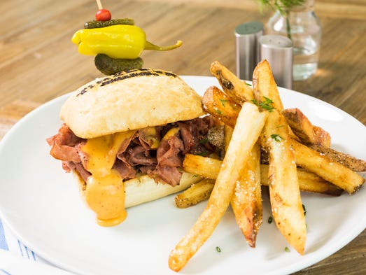 A special fried bologna sandwich is on the menu at