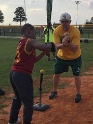 Captain Shreve assistant baseball coach Aaron Wicklund