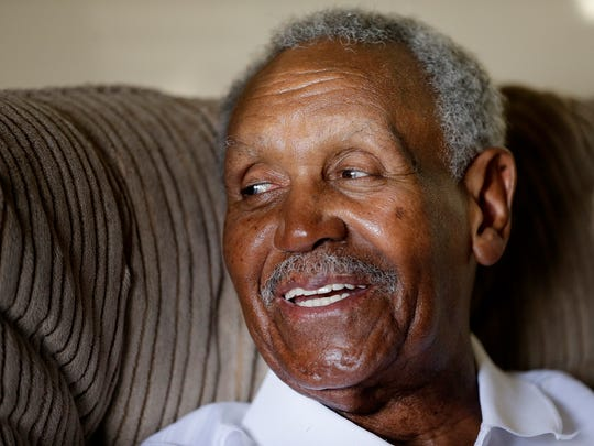 Jumpin' Johnny Wilson — who won state at Anderson High School, broke records at Anderson College and eventually played for the Harlem Globetrotters — talks about his early sports career   May 25, 2016. Known as an Indiana basketball legend, Wilson is being honored with a nine-foot sculpture at Anderson High School. Wilson is also the oldest living Mr. Basketball.