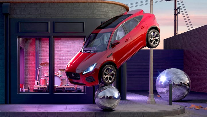 No barrel rolls, but Jaguar's E-PACE SUV makes its North American debut in Novi