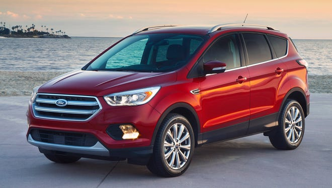 The Ford Escape is the most popular car in Michigan, according to Kelley Blue Book.