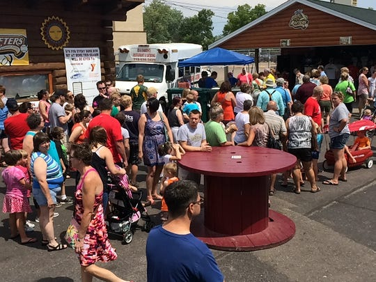 Wisconsin Cheese Curdfest at Witter Field in Wisconsin Rapids in 2015