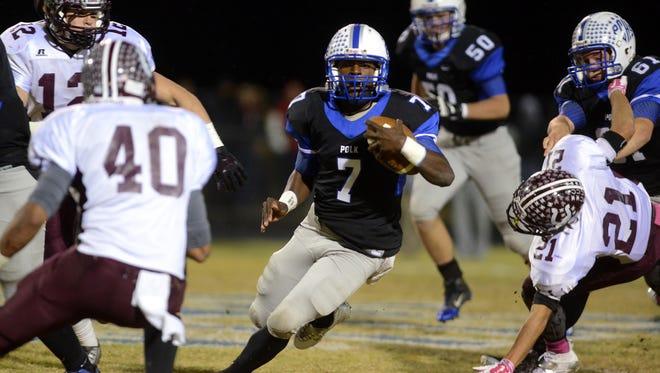 North Carolina A&T has offered a football scholarship to Polk County junior Jamal Wheeler.