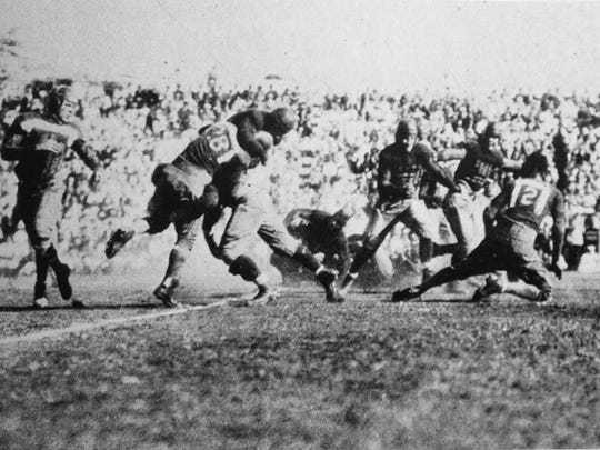 Colorado Agricultural College, now known as CSU, played its first football game at Hawaii on Dec. 12, 1925.