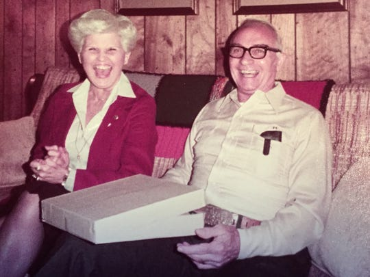 Phyllis and Oscar Hoffman.
