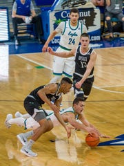 Toughness, as displayed her by FGCU sophomore swingman Christian Carlyle during Thursday night's home blowout of USC Upstate, has been a big factor in the Eagles' much-improved play.