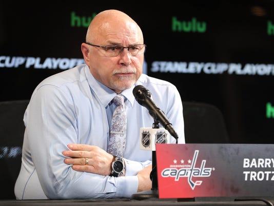 USP NHL: STANLEY CUP PLAYOFFS-WASHINGTON CAPITALS S HKN TBL WSH USA FL