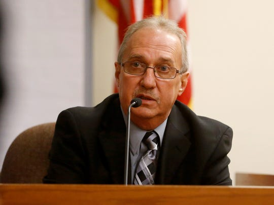 Retired Sayreville Detective Sgt. Raymond Szkodny