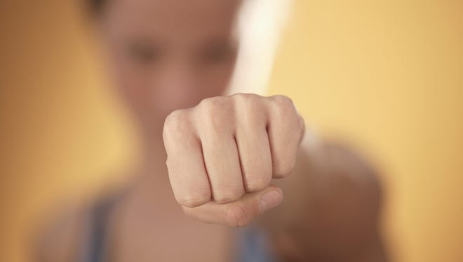 Nowhere is the grip clearer than when your hands are rolled into fists.