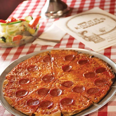 Kinchley's Tavern in Ramsey serves thin crust pizza