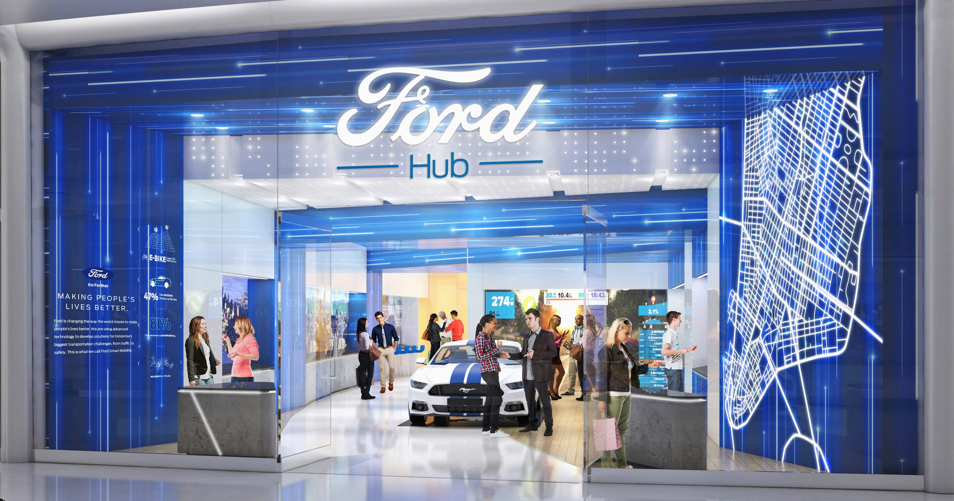 Detroit Free Press Auto >> Ford Wants To Be In Your Phone Solve Your Problems
