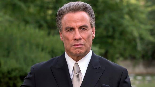 """John Travolta stars as John Gotti in the mobster biopic """"Gotti."""""""