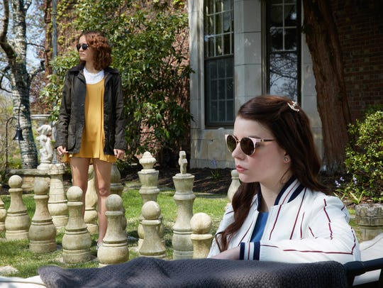 "Olivia Cooke (left) and Anya Taylor-Joy star in ""Thoroughbreds."""