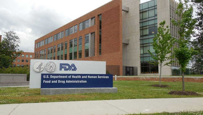Food and Drug Administration headquarters building in Silver Spring, Md.  The FDA has issued a new warning about certain laxatives.