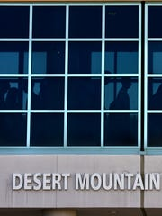 Desert Mountain High School in the Scottsdale Unified