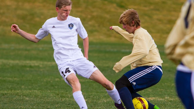 High School Soccer: Snow Canyon at Canyon View, Tuesday, Mar. 21, 2017, in Cedar City, Utah. Final score: CVHS 1, SCHS 0.