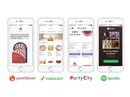 Four apps that make planning a last-minute party possible.