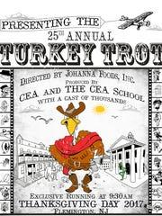 TheCEA/Johanna Foods Turkey Trot 5K run and 2-mile walk will be held on Thursday, Nov. 23.