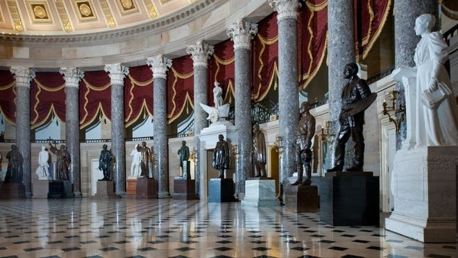Many statues honoring states' prominent citizens are located in National Statuary Hall in the U.S. Capitol. If federal officials approve, a statue of the Rev. Billy Graham will replace one of former North Carolina Gov. Charles Aycock as one of North Carolina's two statues in the building.