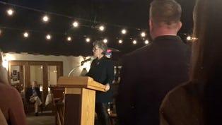 Former California Sen. Barbara Boxer spoke at a fundraiser for the Palm Springs Library Foundation Feb. 8.