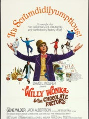 """""""Willy Wonka and the Chocolate Factory"""" stars, Paris"""