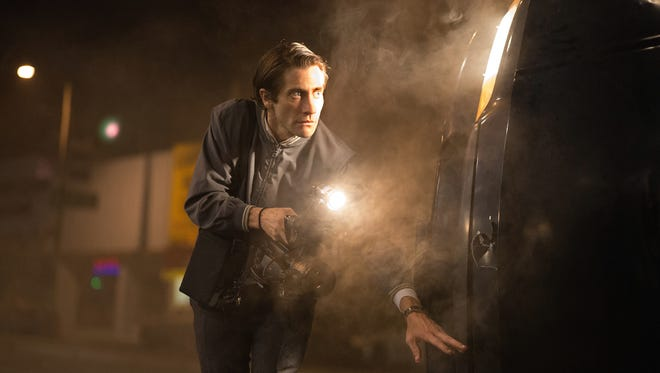 "Jake Gyllenhaal stars in the motion picture ""Nightcrawler."""