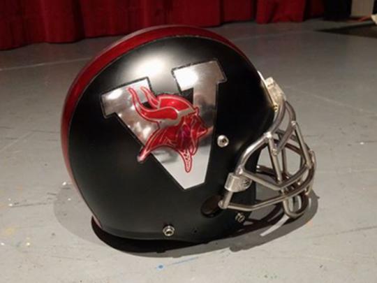 North Posey's new helmet for the 2017 football season.