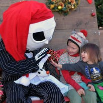 Families out Saturday for local holiday activities